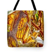Field Corn Ready For Harvest Tote Bag