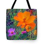 Field Of Flowers Tote Bag