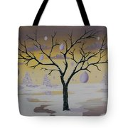 Field Of Potentials Tote Bag