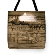 Film Homage Gregg Toland John Ford Henry Fonda The Grapes Of Wrath 2 1940 Ft. Steele Wy 1971-2008 Tote Bag