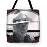 Film Homage Lee Marvin Monte Walsh Collage Variation 2 Old Tucson Arizona 1969-2012 Tote Bag