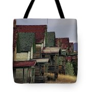 Film Homage Mae Marsh Miner's Coal Company Homes Ghost Town Madrid New Mexico Color 1968-2008 Tote Bag