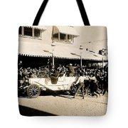 Film Homage Newsreel Cameraman The Great White Hope Set Globe Arizona 1969-2008 Tote Bag