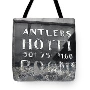Film Noir Ray Teal Anthony Caruso Scene Of The Crime 1949 Antlers Hotel Victor Colorado 1971-2013 Tote Bag