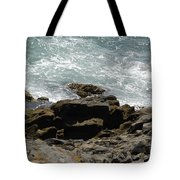 Fine Art Water And Rocks Tote Bag