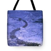 Fingolfin Leads The Host Across The Helcaraxe Ted Nasmith Tote Bag