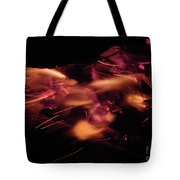 Fire Abstract  Tote Bag