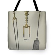 Fire Tongs And Shovel Tote Bag