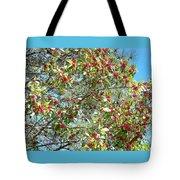 Firethorn Tree Tote Bag