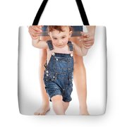 First Baby Steps Tote Bag