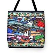 Fish Culture Tote Bag