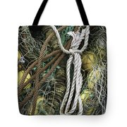 Fish Netting Husavik Iceland 3764 Tote Bag