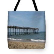 Fishing Pier Tote Bag