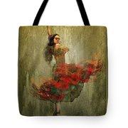 Flamenco In Red Tote Bag