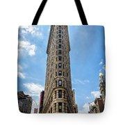 Flatiron Building  Nyc Color Tote Bag