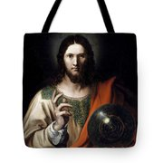 Flemish Salvator Mundi Tote Bag
