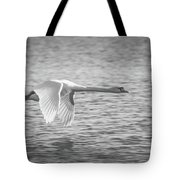 Flight Of The Swan Tote Bag