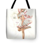 Flirtation In The Breeze Tote Bag