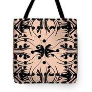 Flora Feline Blush Tote Bag