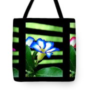Floral Triptych Tote Bag