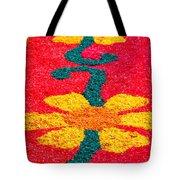 Flower Carpets Tote Bag