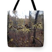 Flower In The Woods Tote Bag