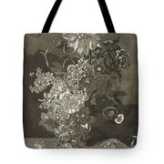 Flower Of The Peony, Cj Crumb, 1700 - 1800 Tote Bag