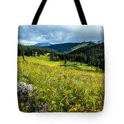 Flowering Colorado Mountain Meadow Tote Bag