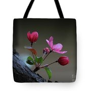 Flowering Crabapple Tote Bag