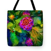 Flowers Confusion Tote Bag