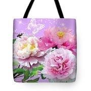Flowers Image Tote Bag