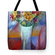 Flowers In Vase Vii Tote Bag
