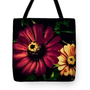 Flowers Lighting Up The Darkness Tote Bag