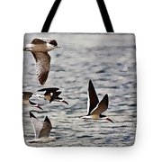 Flying The Inter-coastal - T Tote Bag