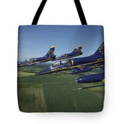 Flying With The Aero L-39 Albatros Tote Bag