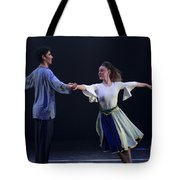Folk Dancing  Tote Bag