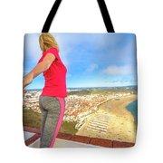Follow Me In Portugal Tote Bag