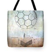 Football Patent Tote Bag