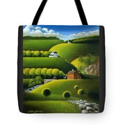 Foothills Of The Berkshires Tote Bag