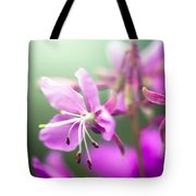 Forest Flower Tote Bag by Adnan Bhatti
