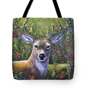 Forest Monarch Tote Bag