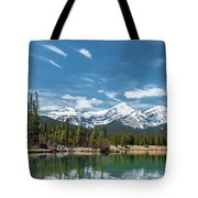 Forgetmenot Pond Tote Bag