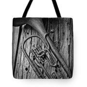 Forgotten Tuba Tote Bag