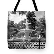 Forsyth Fountain Park Tote Bag