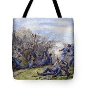 Fort Pillow Massacre, 1864 Tote Bag by Granger