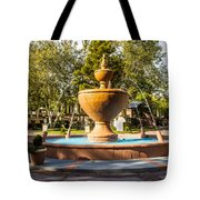 Fountain At Tlaquepaque Tote Bag