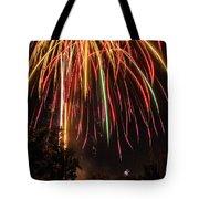 Fourth O' July Tote Bag by Tyson Kinnison