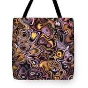 Fractal Modern Art Seamless Generated Texture Tote Bag