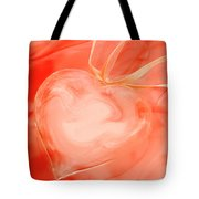 Fragile Heart Valentine's Day Card Tote Bag