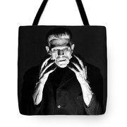 Frankensteins Monster Boris Karloff Tote Bag